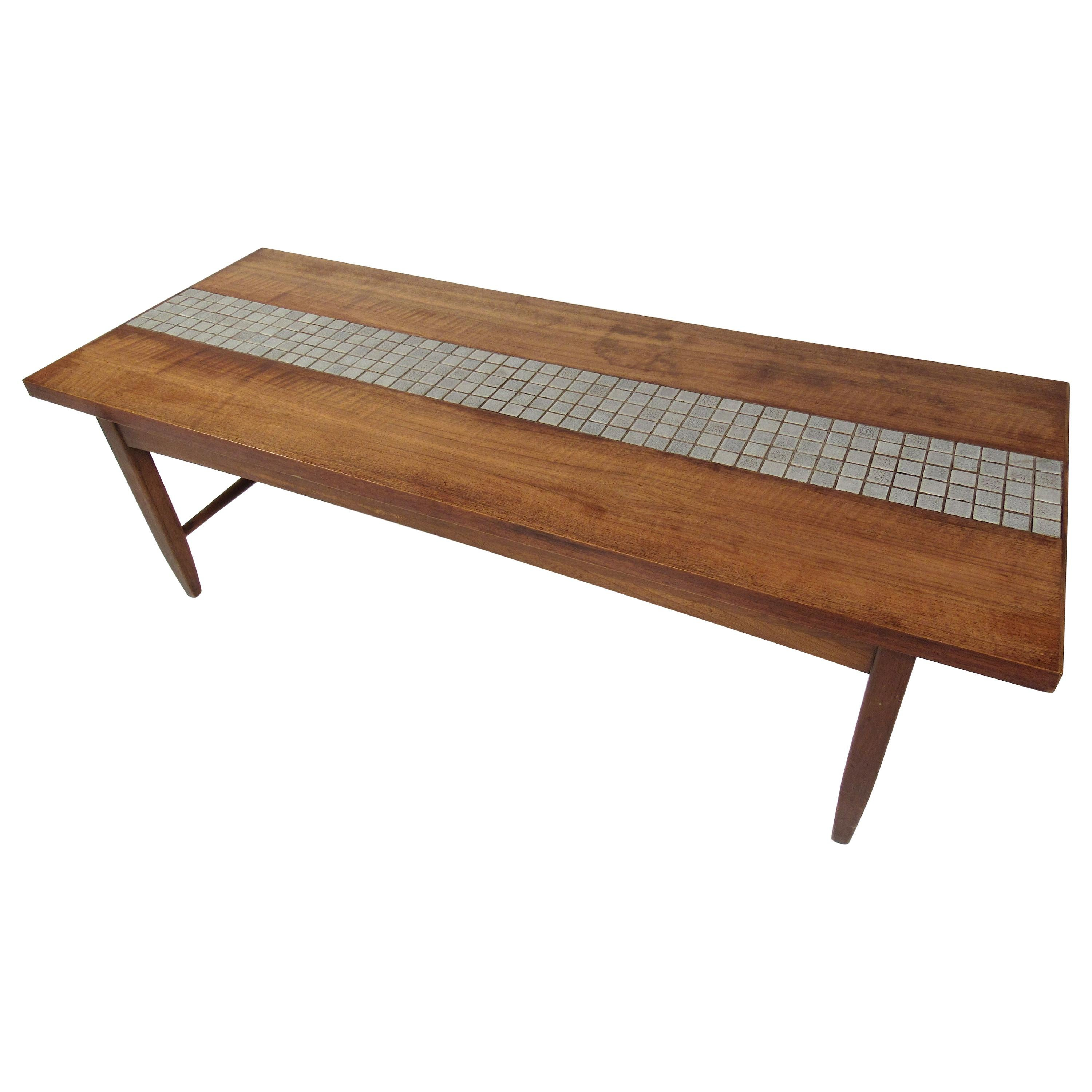 Lane Monte Carlo Collection Tiled Coffee Table