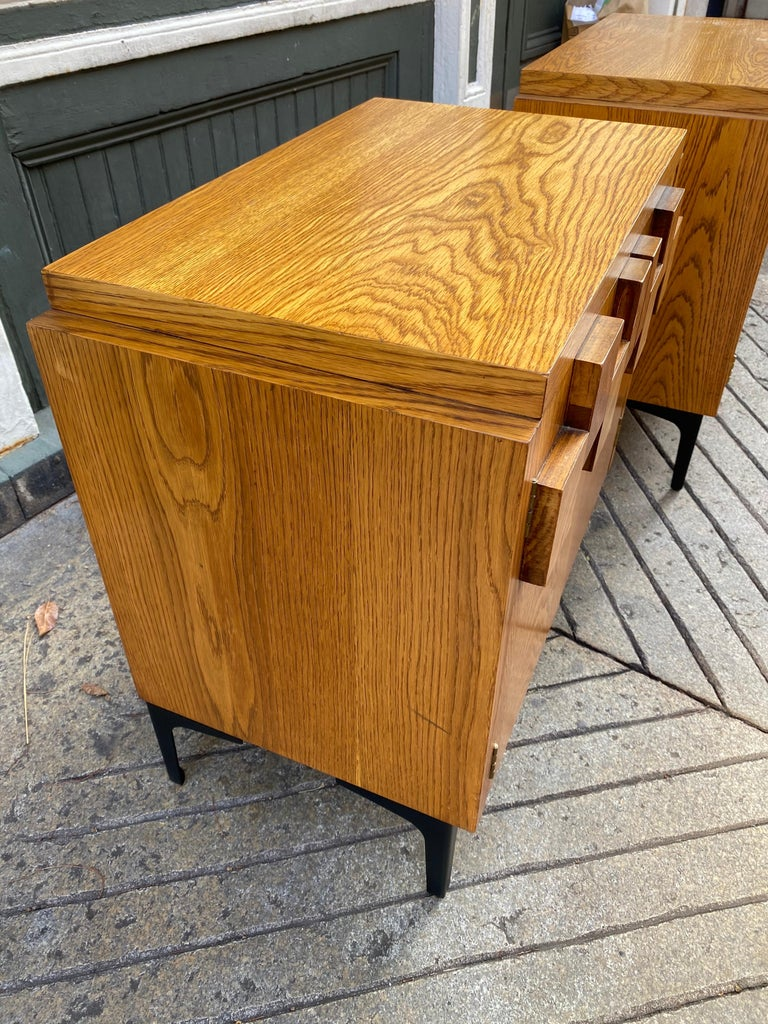 Mid-Century Modern Lane Pair of End Tables or Nightstands For Sale