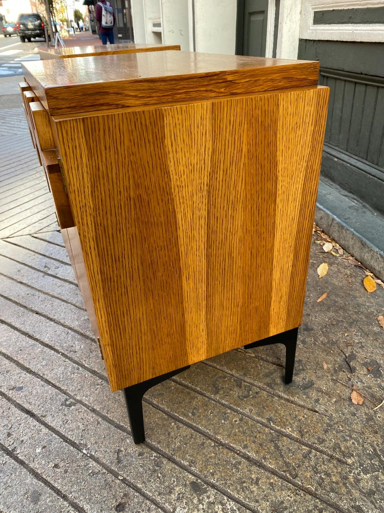 Lane Pair of End Tables or Nightstands In Good Condition For Sale In Philadelphia, PA