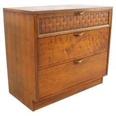 Lane Perception Mid Century Formica 3 Drawer Dresser Chest