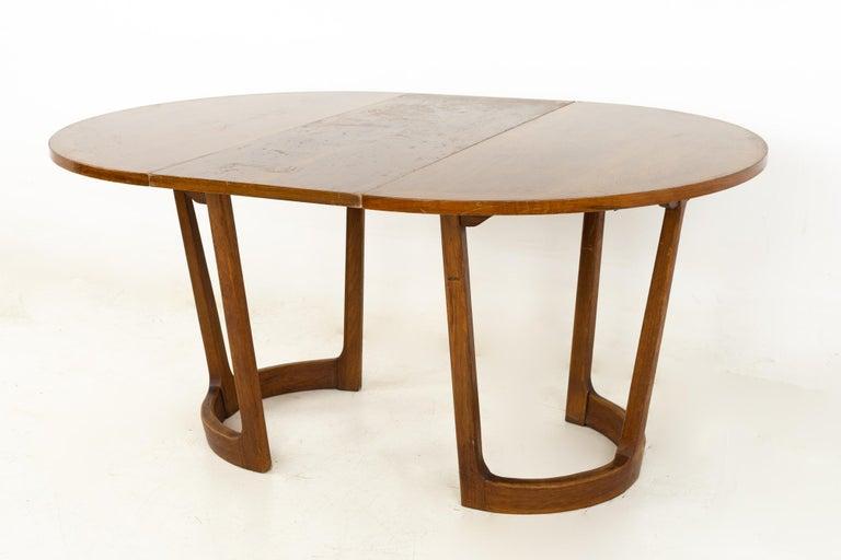 Wood Lane Rhythm Mid Century Round Dining Table
