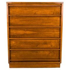 Lane Rhythm Mid Century Tallboy Dresser