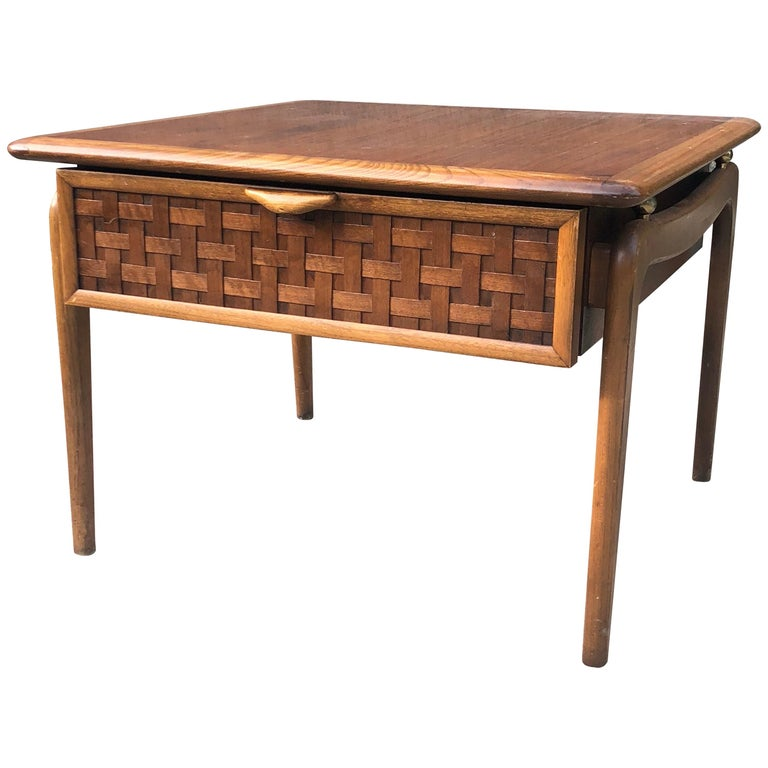 Lane Solid Walnut Coffee Or Cocktail Table For Sale At 1stdibs