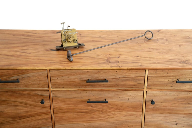 Lanett Credenza in Elm  by Alabama Sawyer For Sale 1