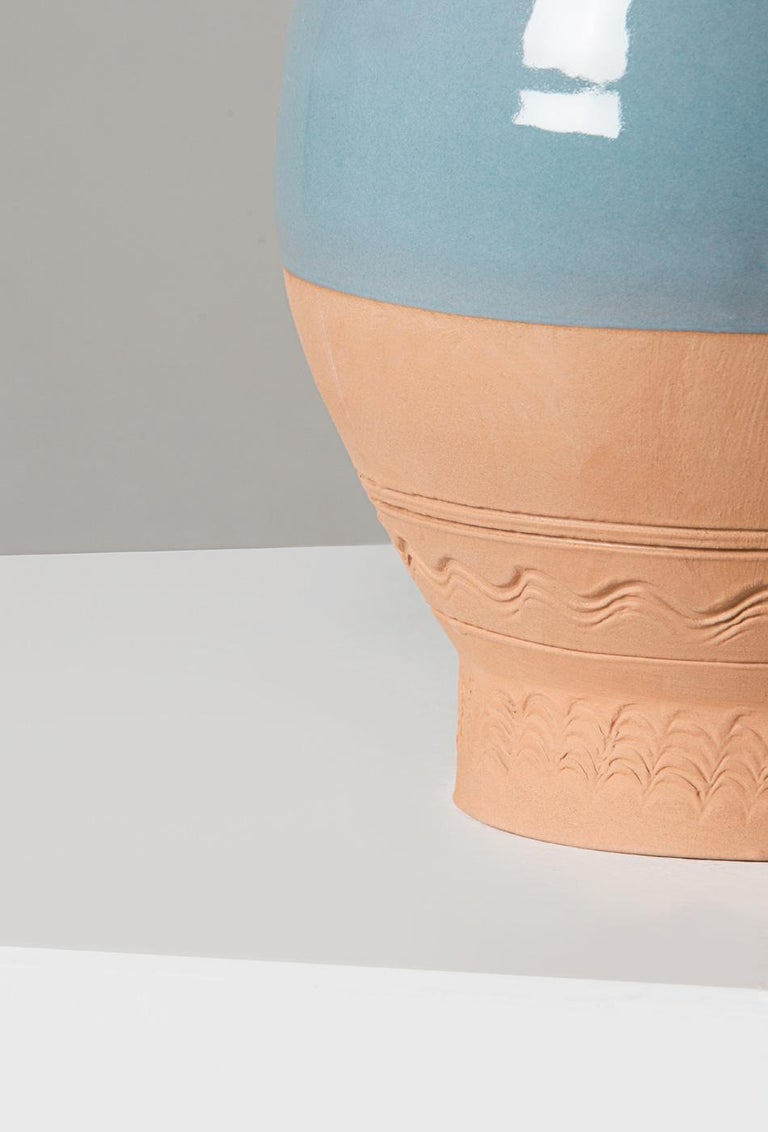 Langiu Vase, a Revisitation of the Sardinian Water Jug by Sam Baron In New Condition For Sale In Santadi, SU