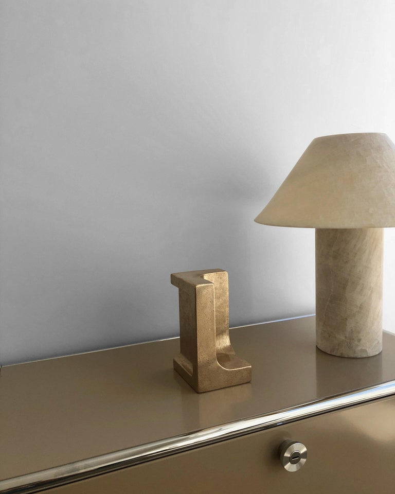 Modern Langley Bookend by Henry Wilson For Sale