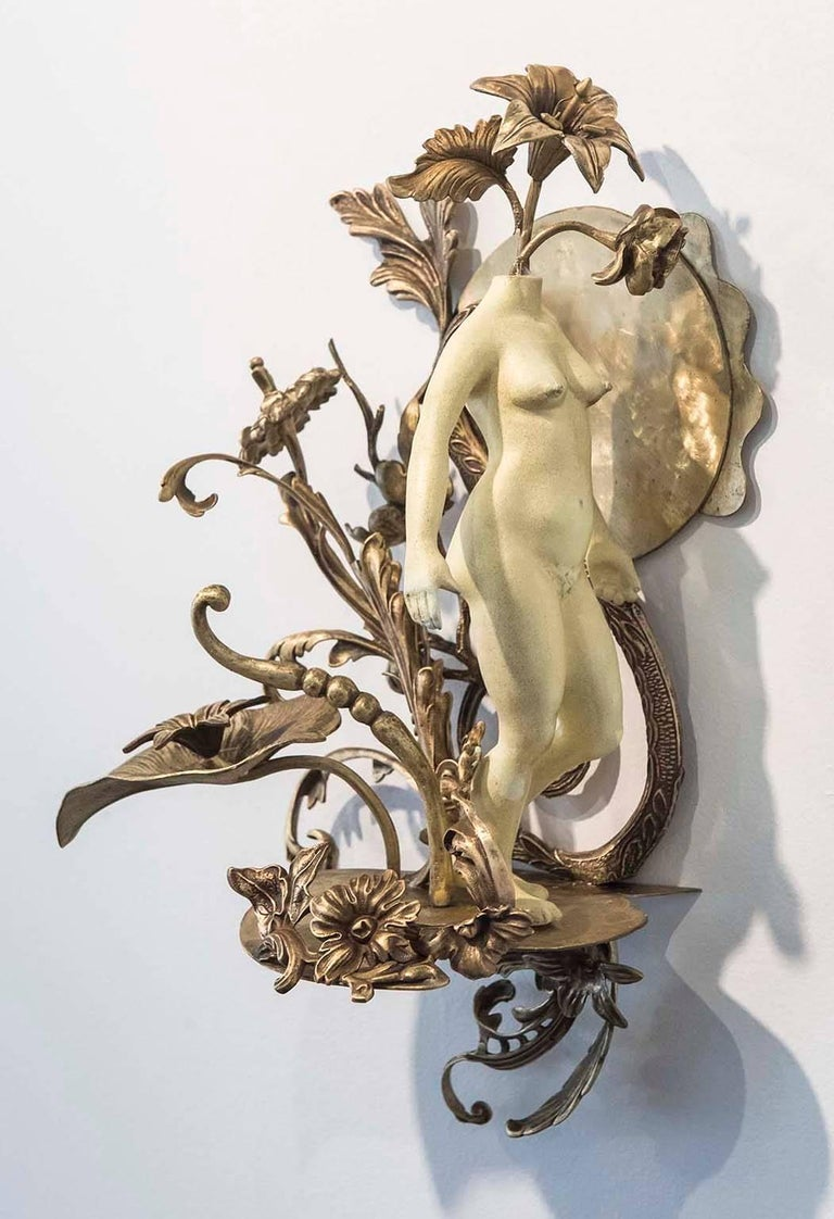 Lannie Hart Figurative Sculpture - Sightings 3