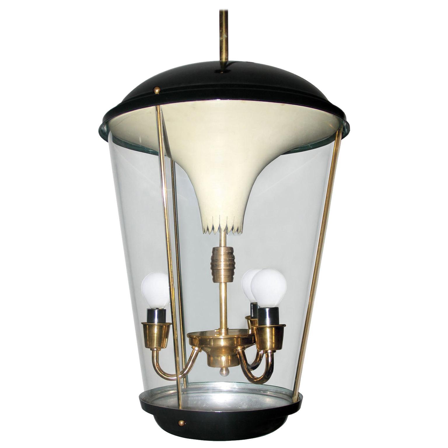 Lantern by Pietro Chiesa for Fontana Arte, Italy, 1940s