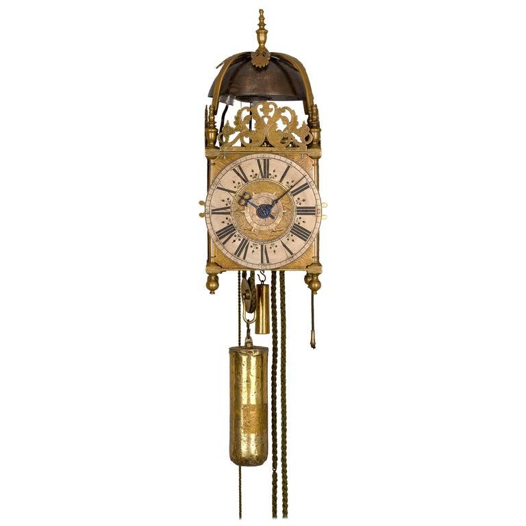 Lantern Clock by Henry Jones, London