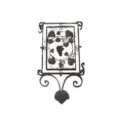 Lantern Panel with Grapevine Detail