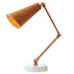 Lanterna Cork Table Lamp by Merve Kahraman
