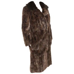 LANVIN Brown Fur