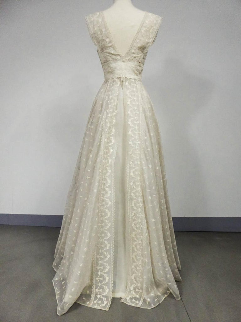 Lanvin CastilloCouture Ball Gown from Baroness de Rothschild circa 1957 For Sale 5