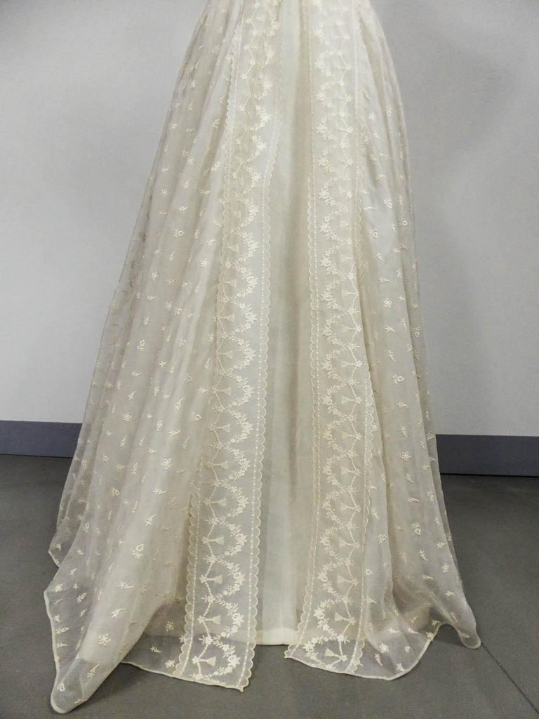 Lanvin CastilloCouture Ball Gown from Baroness de Rothschild circa 1957 For Sale 6