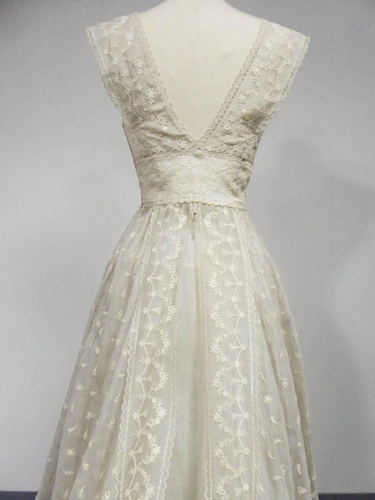 Lanvin CastilloCouture Ball Gown from Baroness de Rothschild circa 1957 For Sale 7