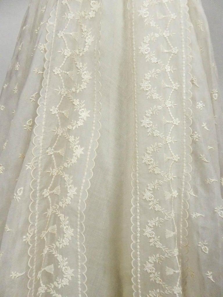 Lanvin CastilloCouture Ball Gown from Baroness de Rothschild circa 1957 For Sale 8