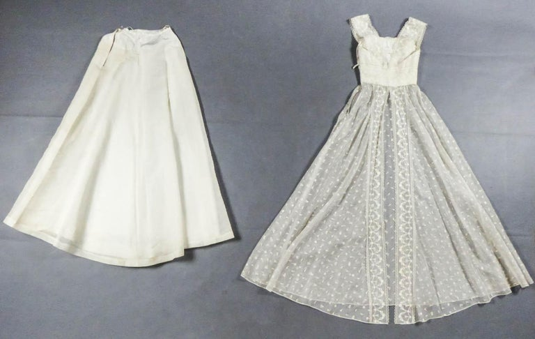 Lanvin CastilloCouture Ball Gown from Baroness de Rothschild circa 1957 For Sale 10