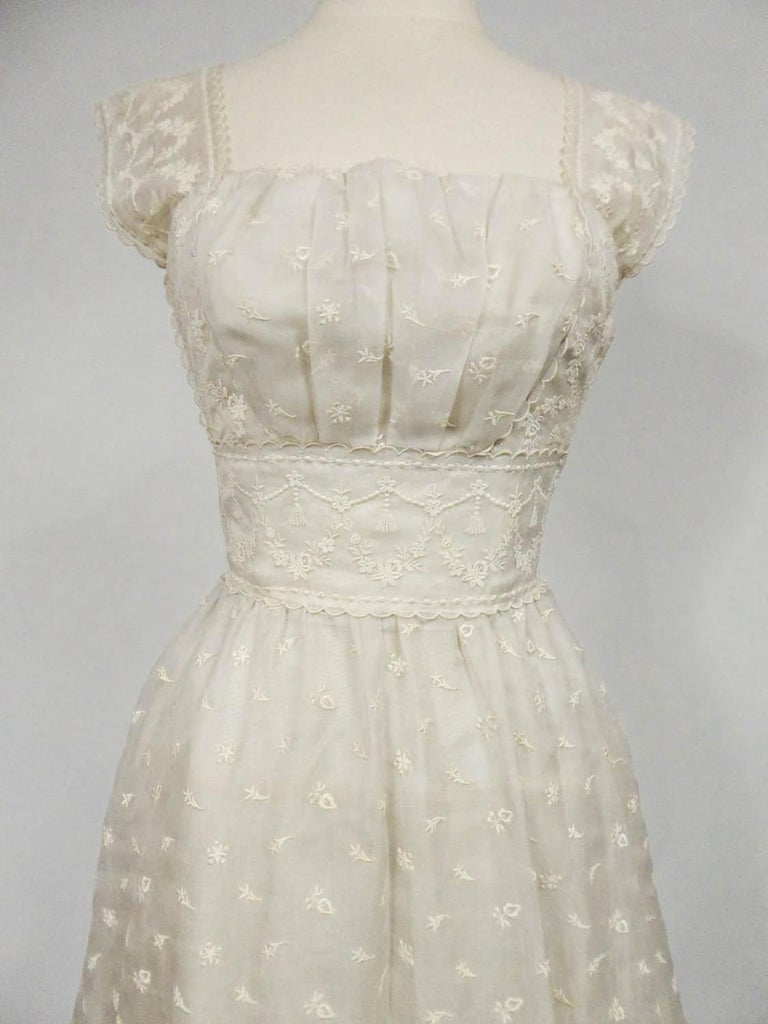 Women's Lanvin Castillo Couture Ball Gown from Baroness de Rothschild circa 1957 For Sale