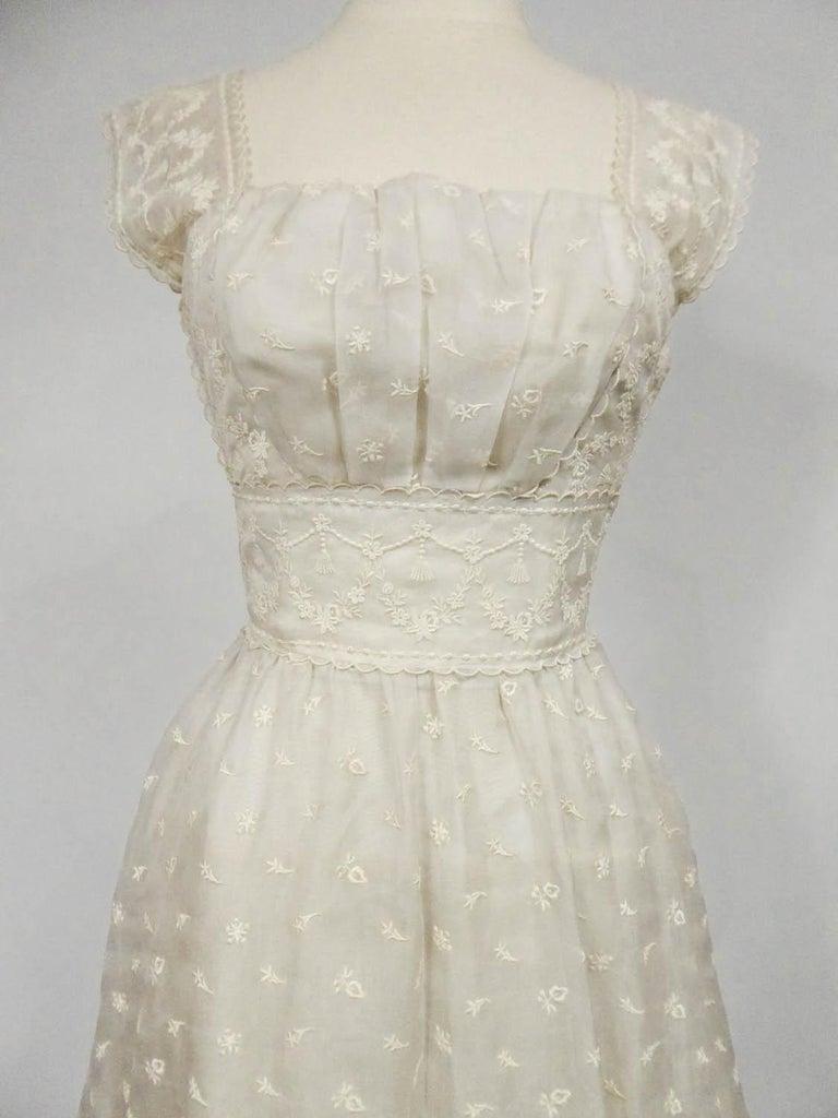 Women's Lanvin CastilloCouture Ball Gown from Baroness de Rothschild circa 1957 For Sale