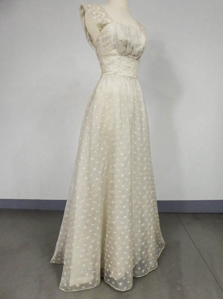 Lanvin CastilloCouture Ball Gown from Baroness de Rothschild circa 1957 For Sale 1