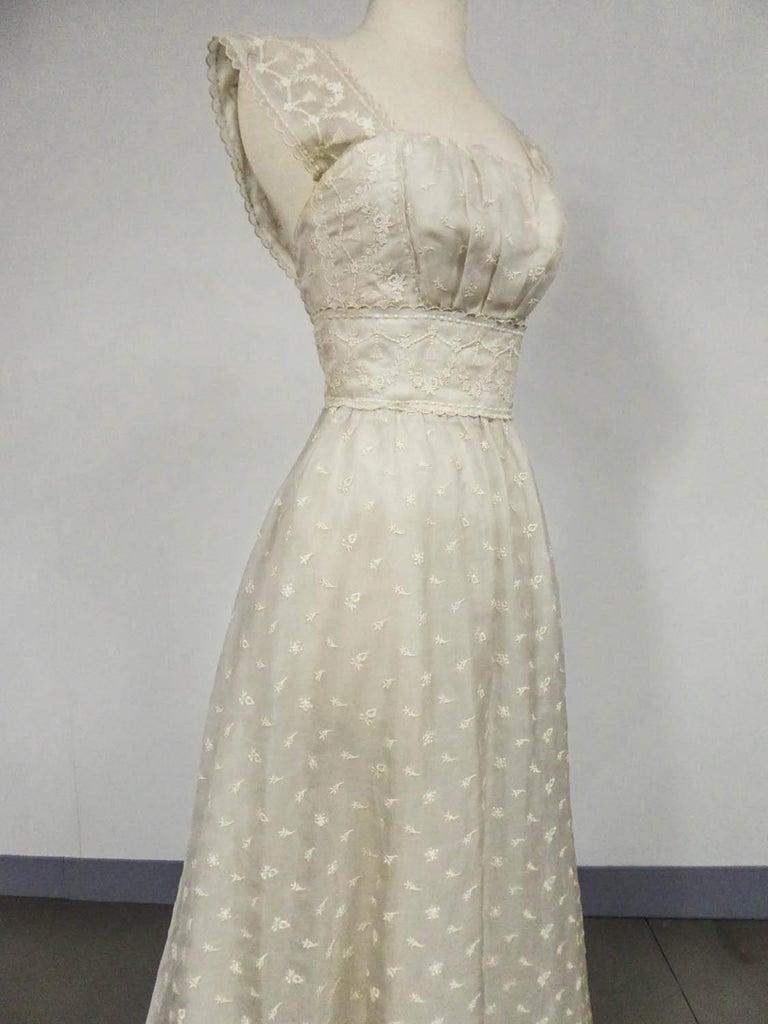 Lanvin CastilloCouture Ball Gown from Baroness de Rothschild circa 1957 For Sale 2