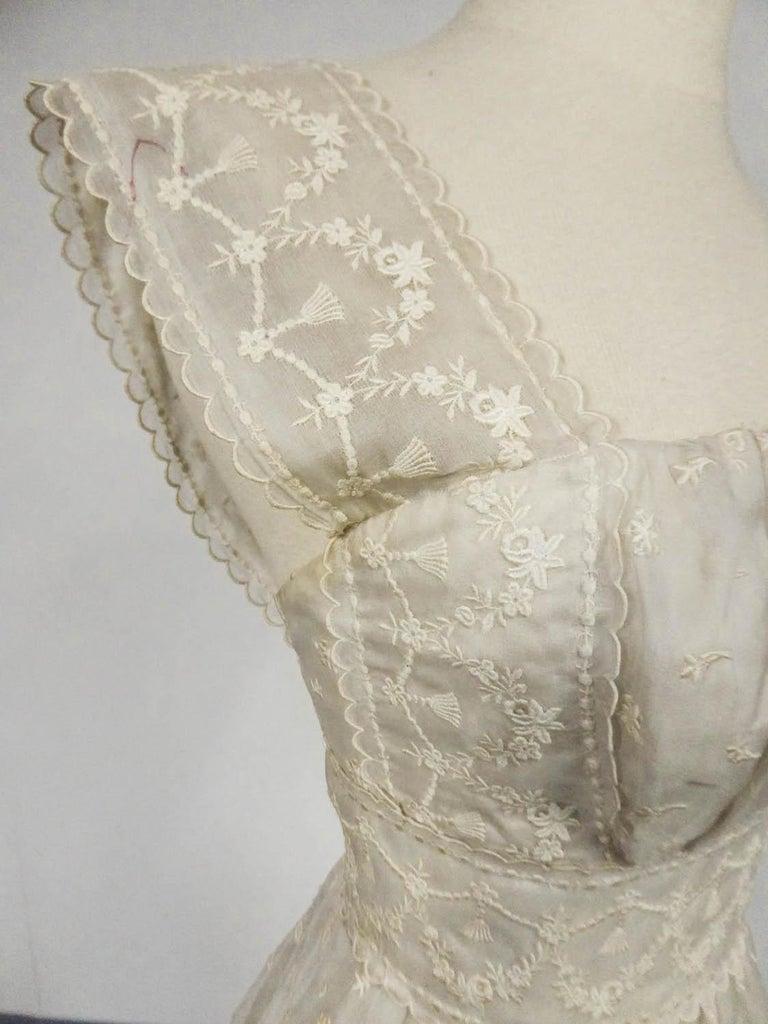 Lanvin CastilloCouture Ball Gown from Baroness de Rothschild circa 1957 For Sale 3