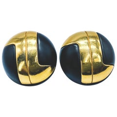 LANVIN Earrings Vintage 1960s