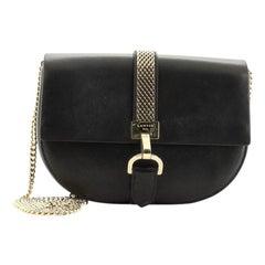Lanvin Lien Shoulder Bag Leather Small