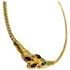 LANVIN Necklace Vintage 1980s
