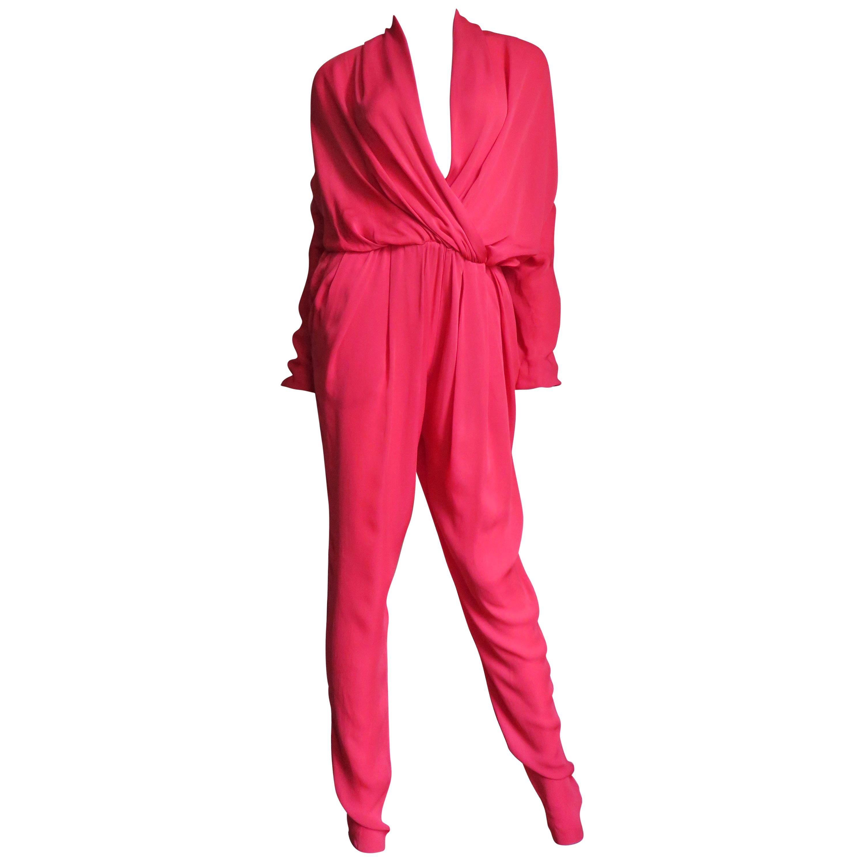 Lanvin New S/S 2014 Silk Jumpsuit