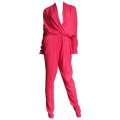 Lanvin New S/S 2014 Silk Jumpsuit