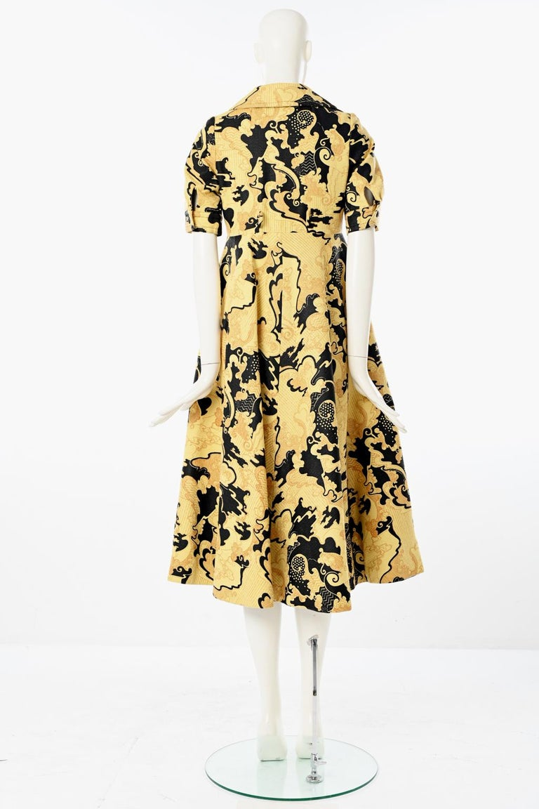 Lanvin Printed Shirt Dress For Sale 6