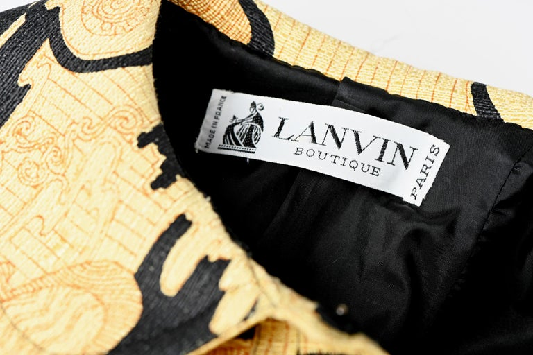 Lanvin Printed Shirt Dress For Sale 11