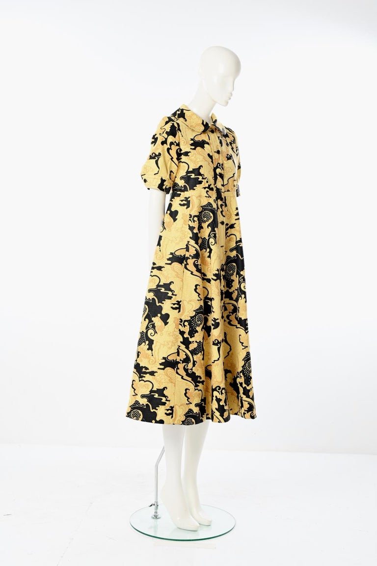 Women's Lanvin Printed Shirt Dress For Sale