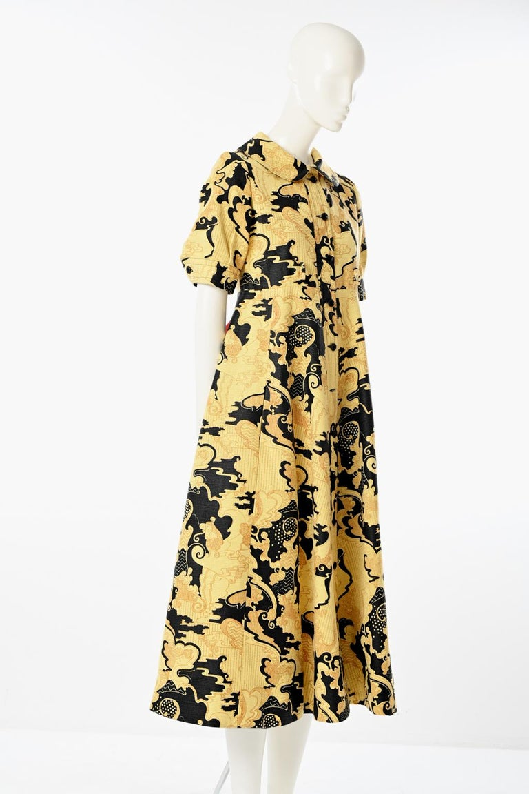 Lanvin Printed Shirt Dress For Sale 1