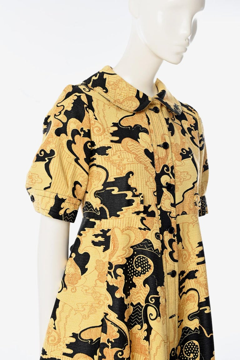 Lanvin Printed Shirt Dress For Sale 2