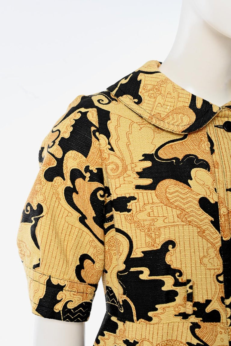 Lanvin Printed Shirt Dress For Sale 3