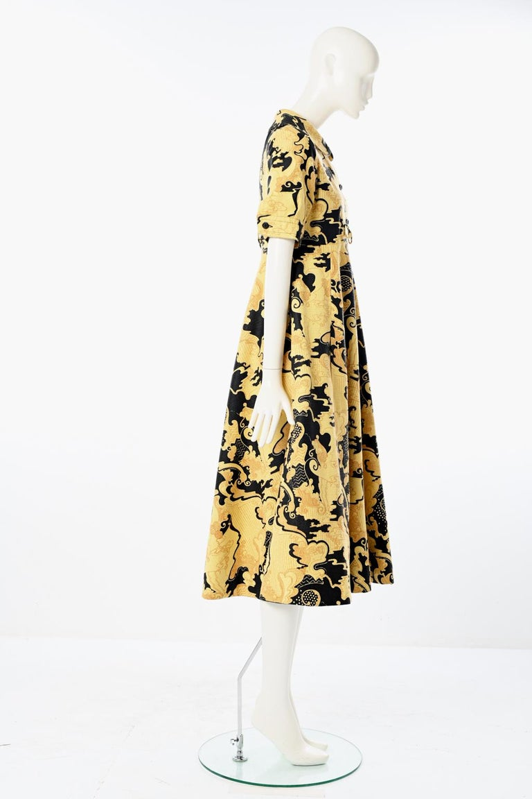 Lanvin Printed Shirt Dress For Sale 4