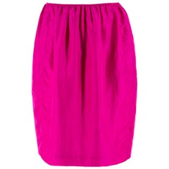 Lanvin Silk Pink Lightweight Skirt - Size US 8