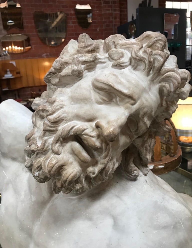 Laocoon, Plaster Bust, Copy in Scale 1/1 For Sale 5