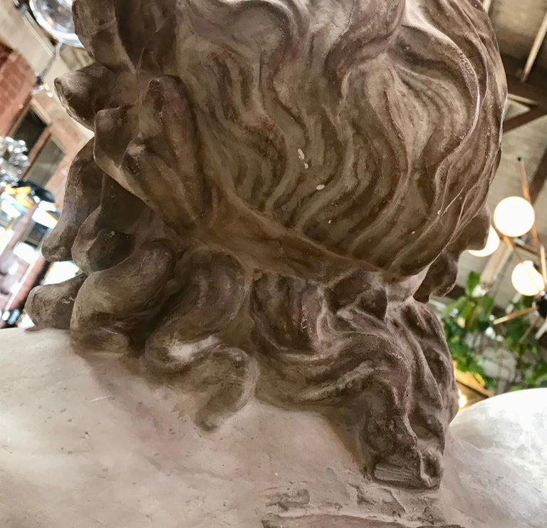 Laocoon, Plaster Bust, Copy in Scale 1/1 For Sale 7
