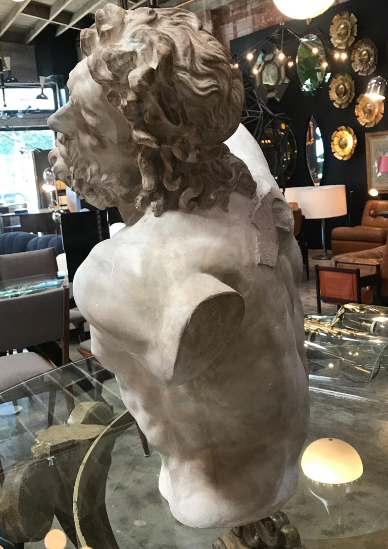 Laocoon, Plaster Bust, Copy in Scale 1/1 For Sale 8