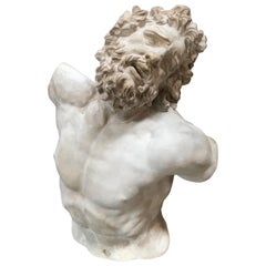 Laocoon, Plaster Bust, Copy in Scale 1/1