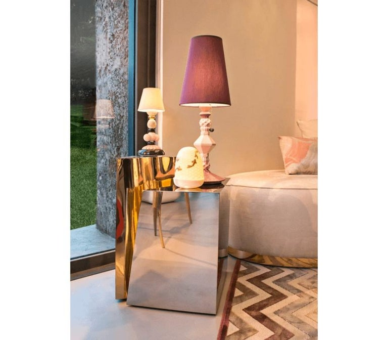Lapiaz Side Table With a Contemporary Design by Boca do Lobo For Sale 2