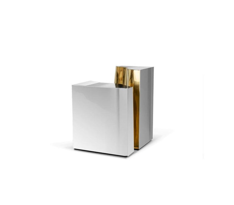 Modern Lapiaz Side Table With a Contemporary Design by Boca do Lobo For Sale