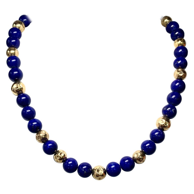 Lapis Lazuli Necklace Multi Stone Long Necklace Tassel Necklace Gemstone Necklace Modern Necklace Trendy Necklace White Jade Necklace
