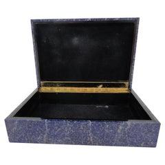 Lapis Lazuli Box