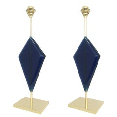 Lapis Table Lamp by Effetto Vetro for Gaspare Asaro