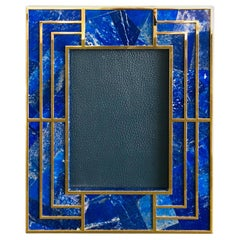 Lapiz Lazuli Photo Frame by Fabio Ltd