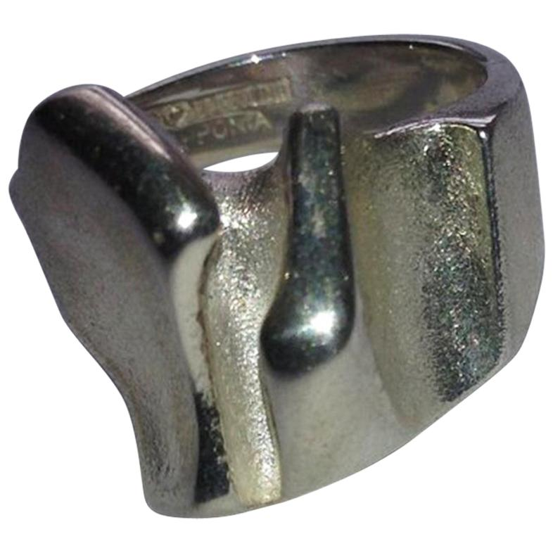 Lapponia Finland Modern Sterling Silver Ring